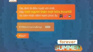 yan summer challenge - day27