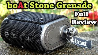 boAt Stone Grenade Bluetooth Speaker Review| Sound Test| Worth at RS-1399?