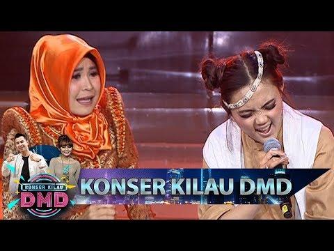 Bikin Ketawa Aja Nih, Rina Nose feat Ella Latah TALAK TILU - Konser Kilau DMD (14/1)