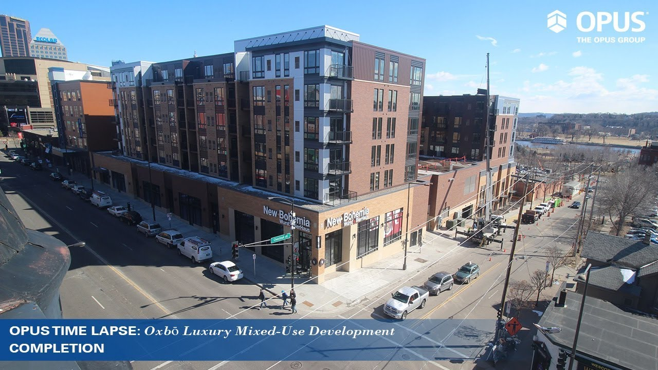 West 7th Saint Paul Mixed Use Development The Opus Group