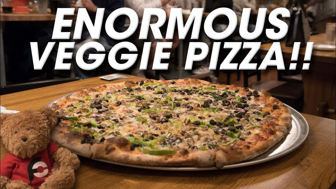 Download Giant Veggie Pizza Challenge Record w/ Da Garbage Disposal!!