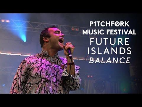 Future Islands perform Balance  Pitchfork Music Festival 2015