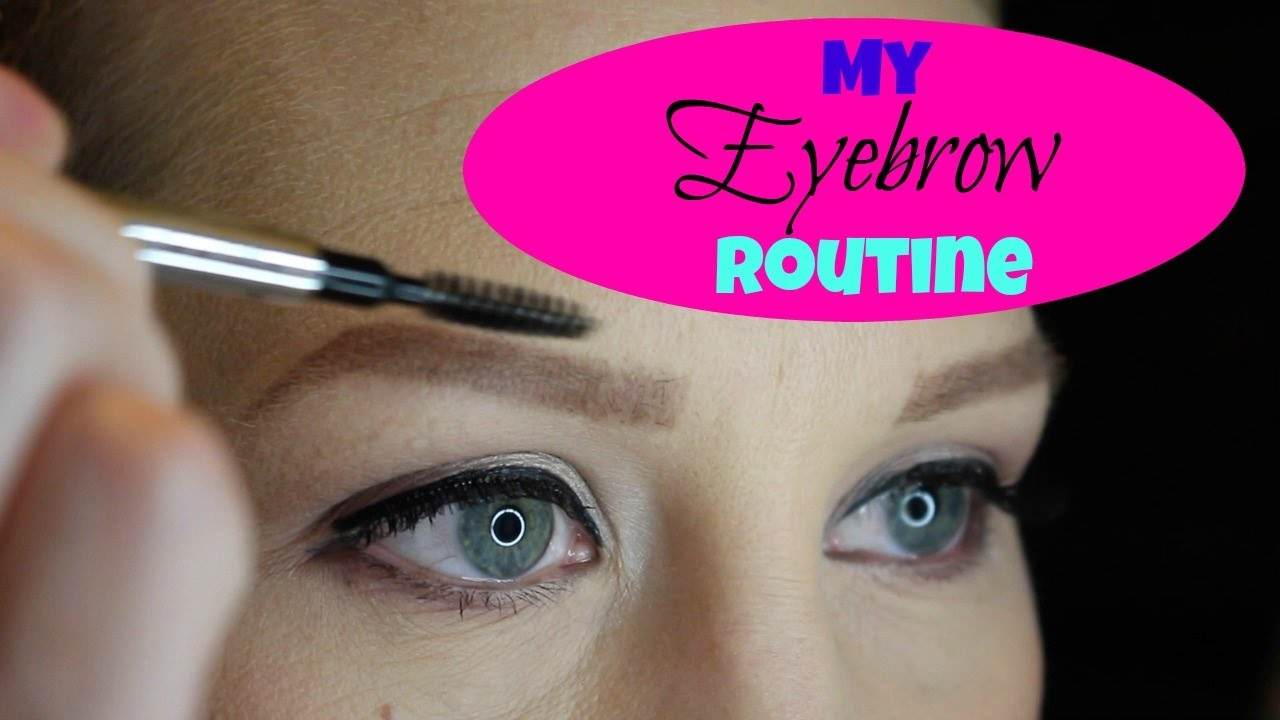 Eyebrow Routine Eyebrow Routine During Chemo No Eyebrow Eyebrow