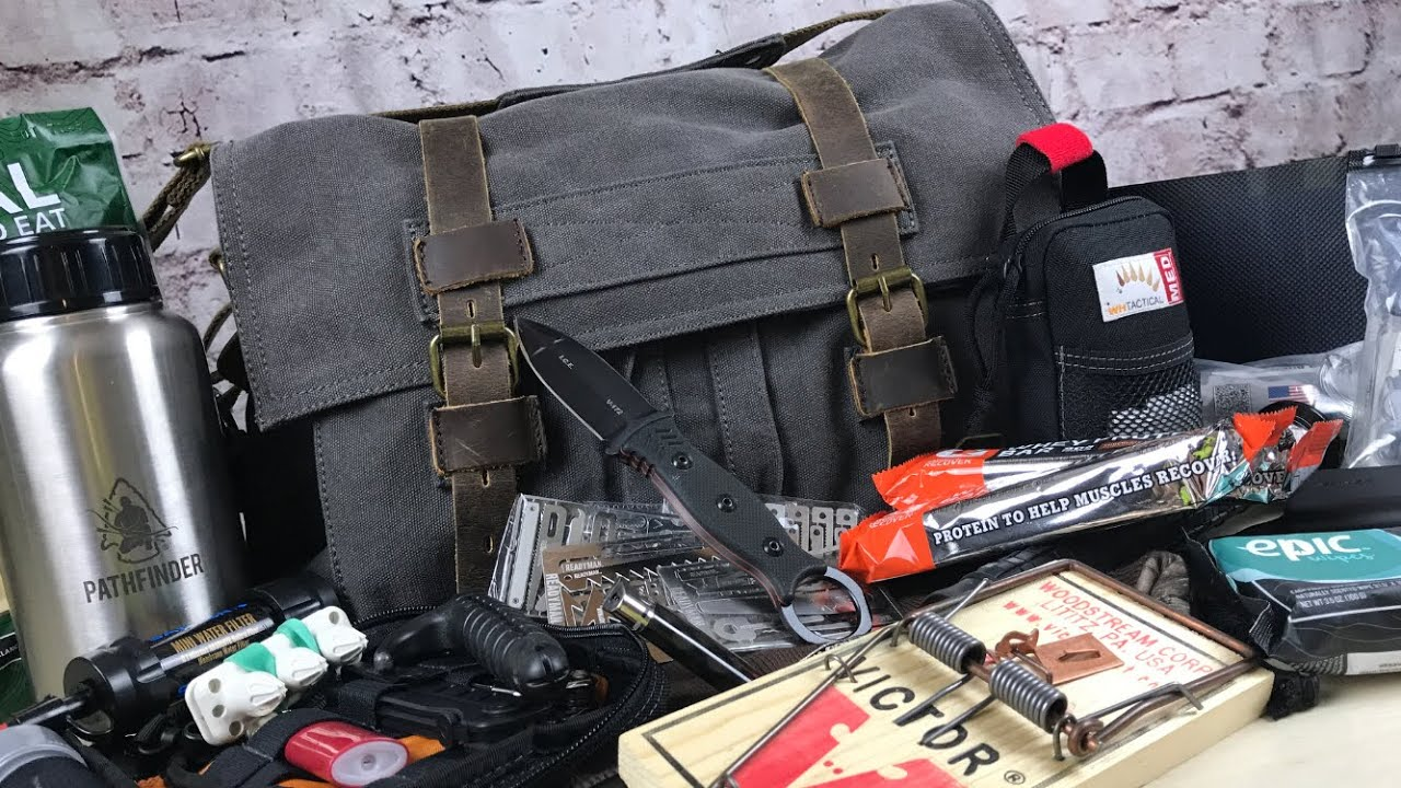 Urban Survival Kit | Get Home Bag: Gray Man Bag & System For When Things Go  Sideways - YouTube