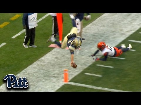 Nathan Peterman Dives For The Pylon, Incredible Pitt Touchdown