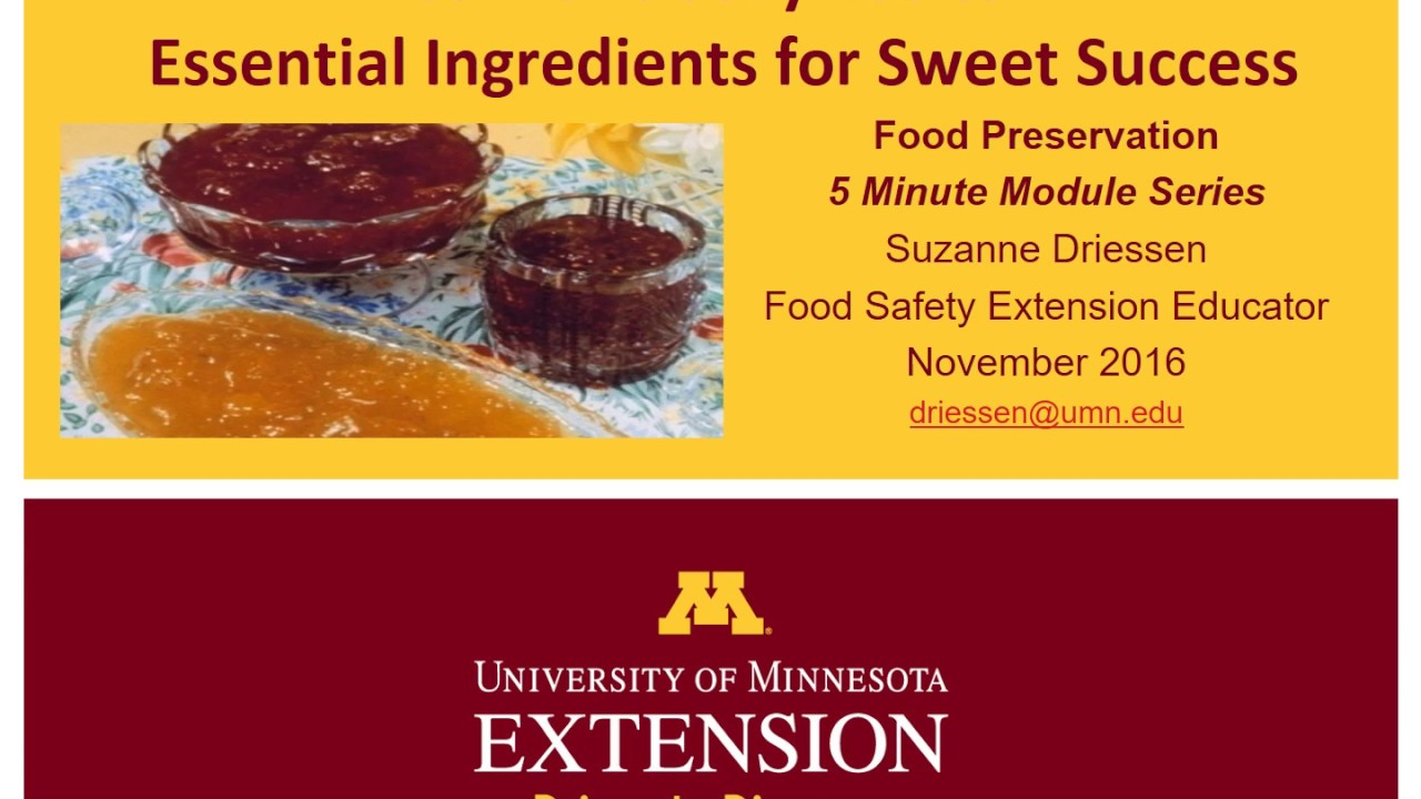 Making jams, marmalades, preserves and conserves | UMN Extension