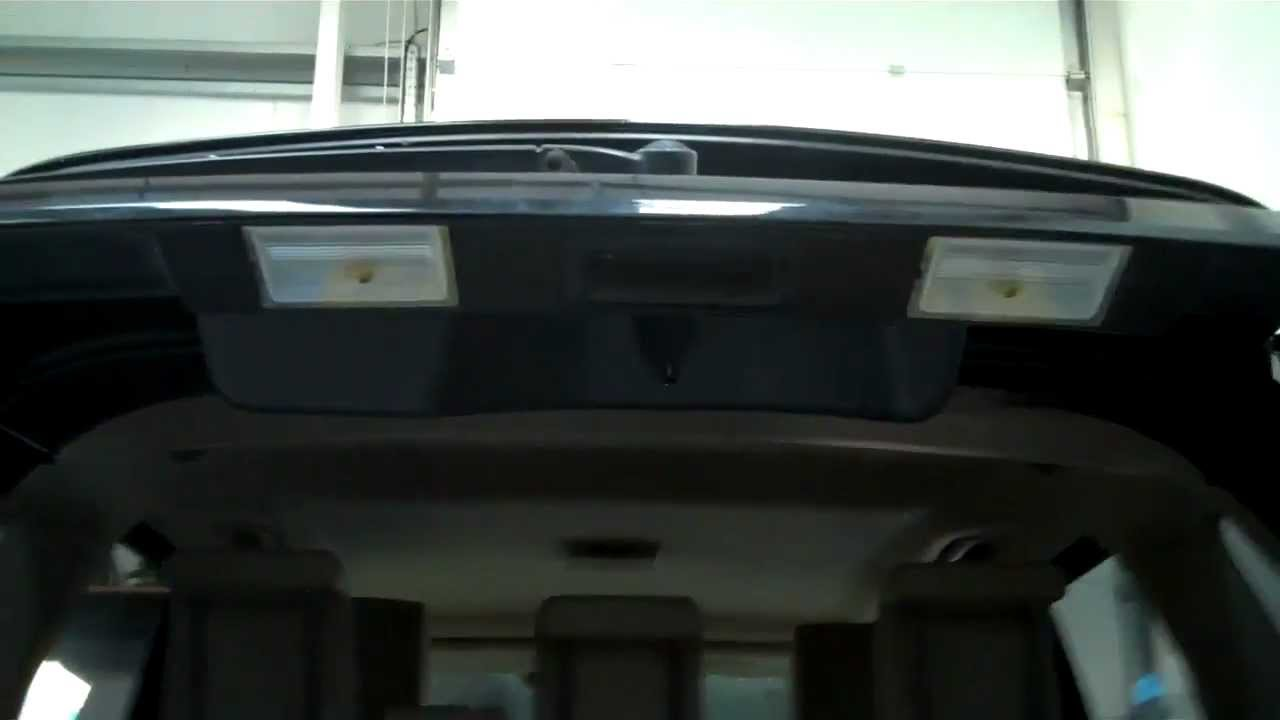 How To Fit Led Rear Number Plate Bulbs On Range Rover
