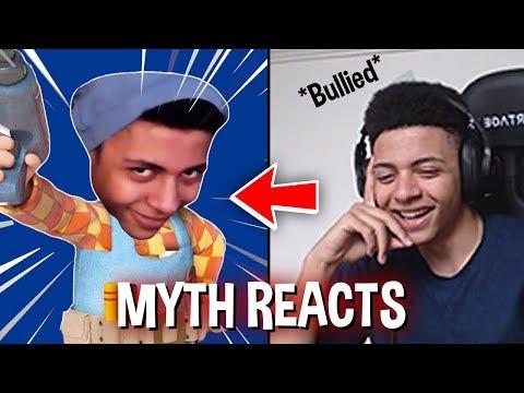 Myth Reacts To: Myth Is Tricky (Fortnite)