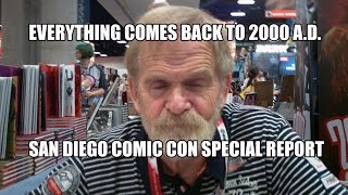 Everything Comes Back to 2000 A.D. San Diego Comic Con 2015 Special Report