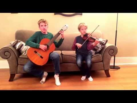 Sonata concertata in A major for violin and guitar duet, by Paganini.