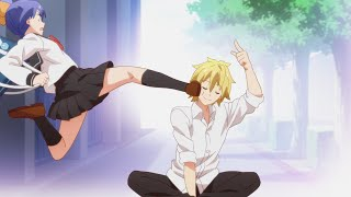 Hilarious KicksPunches in Anime  Funny Compilation