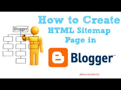 how to create sitemap page using html youtube