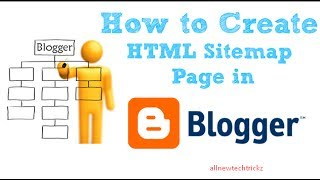 How to Create sitemap Page using Html thumbnail