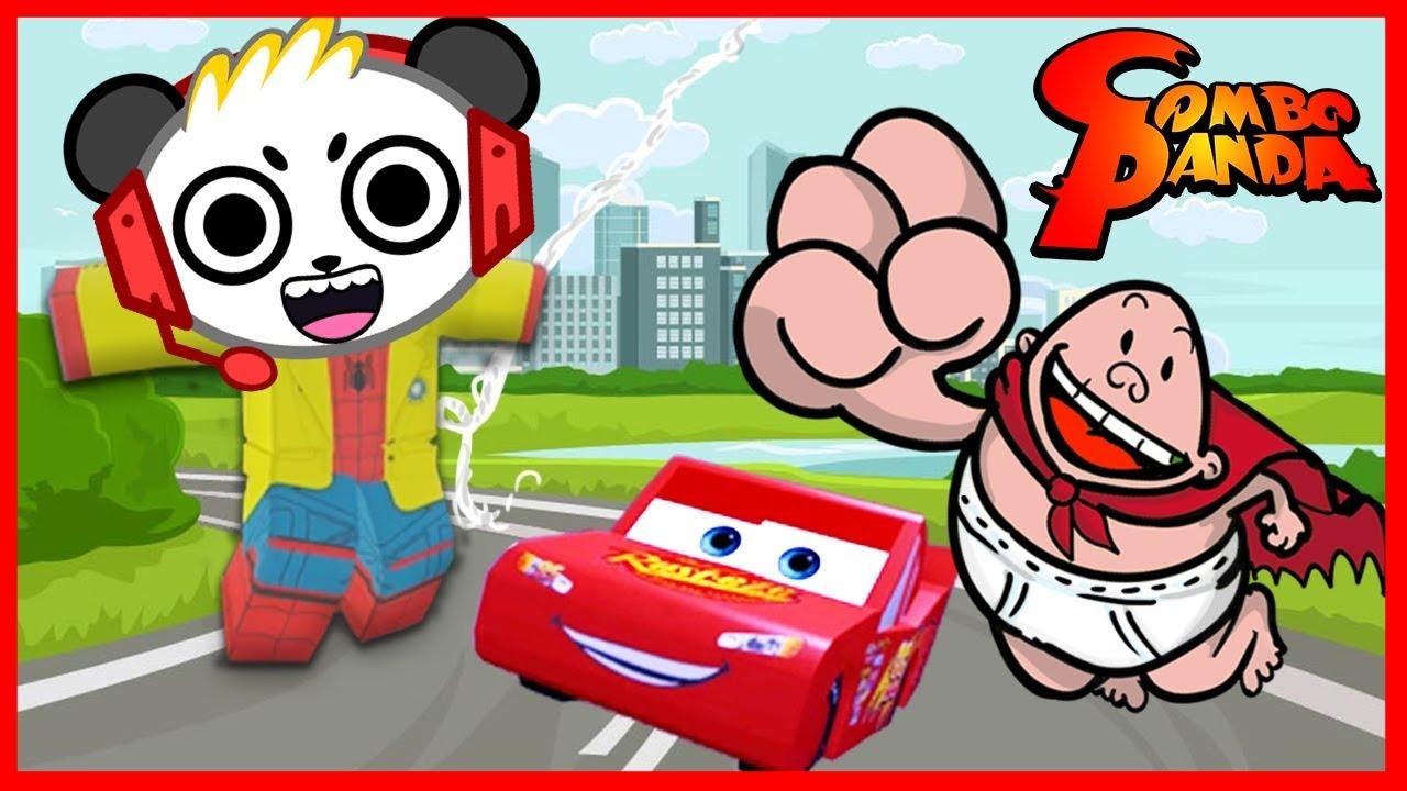 Clip Lets Play Roblox Clip Superhero Tycoon 2 Tv All The Best Superhero Saves Let S Play Roblox With Combo Panda Youtube