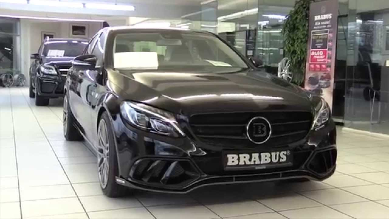 Mercedes Benz Brabus C Cl 2016 In Depth Review Interior Exterior You
