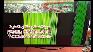 Led tv panel repair,UA32F4000AW,PANEL: HF320AGH-R1,T-CON:ST3151A04-2-XC-4,