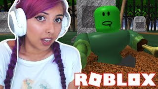 Escape The Haunted Cemetery - France Obby Roblox