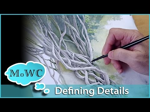 Paint Watercolor With Me – Defining the Details