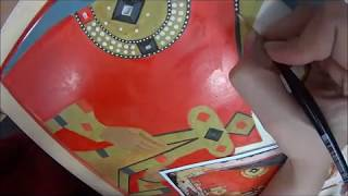 Делаем жемчуг на иконе Святой Варвары