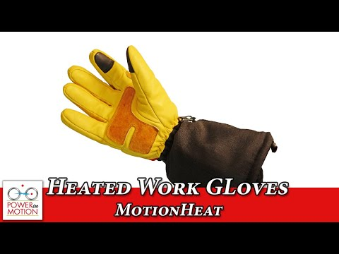 MotionHeat Heated Work Gloves Preview - Calgary | Edmonton | Vancouver | Winnipeg | Canada