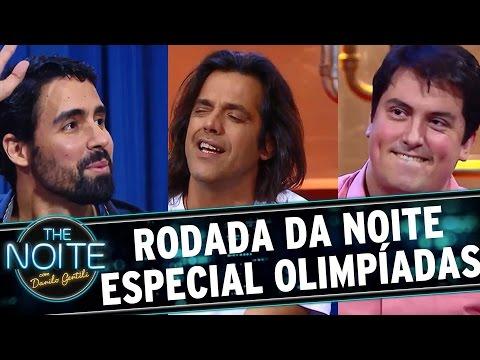 The Noite (10/08/16) - Rodada da Noite Olímpica com Bruno Berg, Bruno Costoli e Duca Pantaleão