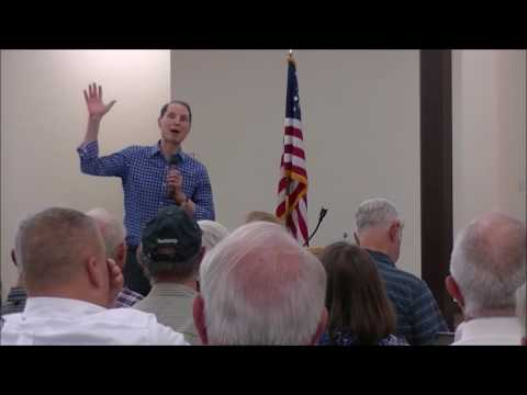 U.S. Senator Wyden TPP  Townhall Eagle Point OR Aug 1 2016