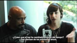 Cypress Hill en entrevista con Nina Campbell para noiselab.tv