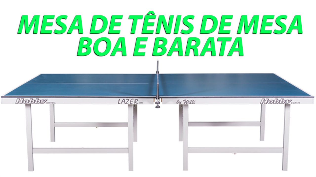 Mesa de ping pong e t nis de mesa barata em 15mm mdf da hobby brasil loja - Mesas de pinpon ...