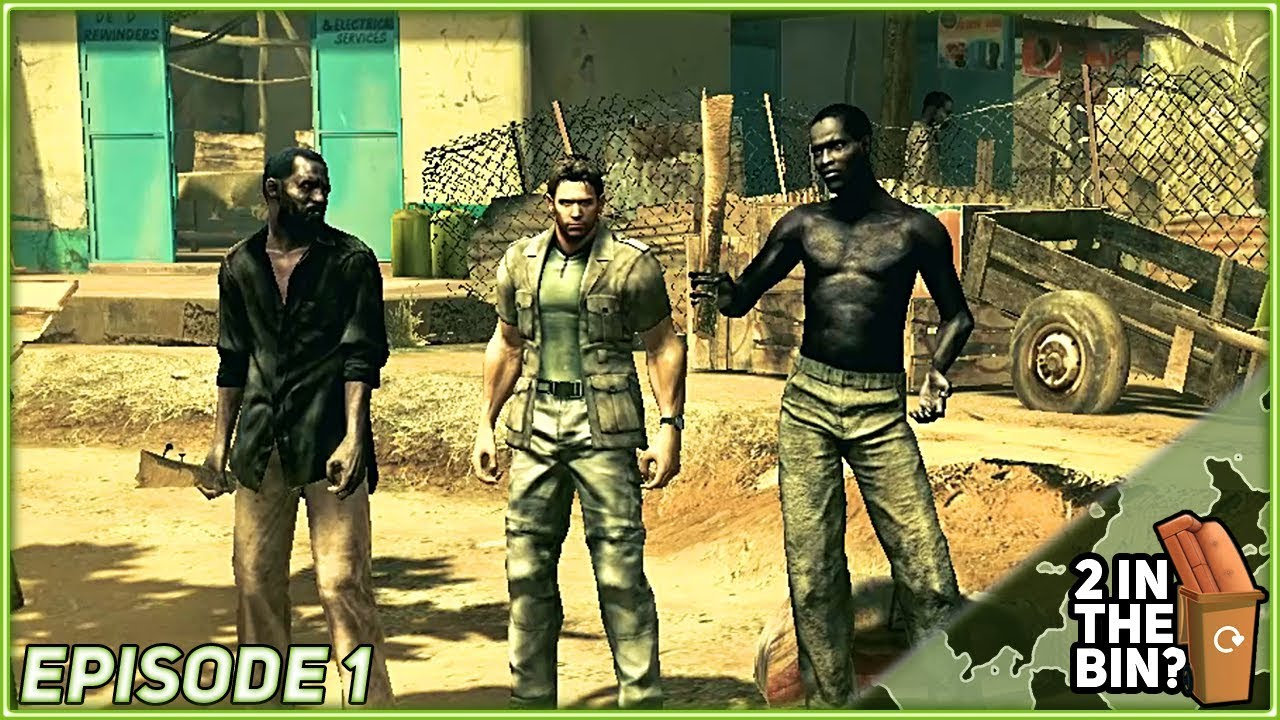 2itb Resident Evil 5 Co Op Let S Play Episode Part 1 Gameplay Walkthrough Youtube