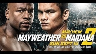 Floyd Mayweather vs Marcos Rene Maidana 2 13,09,2014