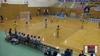 2019年IH ハンドボール 女子 2回戦 小松市立(石川)VS 富士(静岡)
