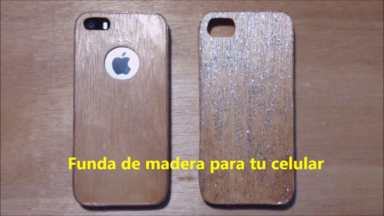 3e6499a525c Como hacer una funda de madera para tu iphone (casera) - YouTube