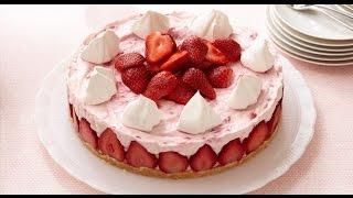 No Bake Strawberry Cheesecake Supreme