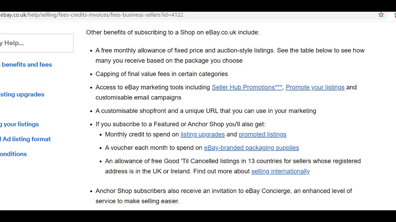 Ebay Final Value Fee Sale Cap Removed With Managed Payment Be Aware Youtube