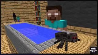 Minecraft Escola Monstro #13 : Natação - Minecraft Animação Engraçado 2016