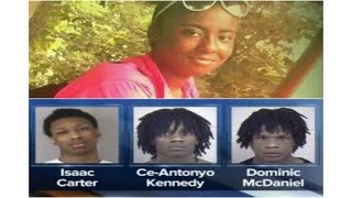 Messy MO~ 3 Teens Charged in Murder of 14-Year-Old Girl