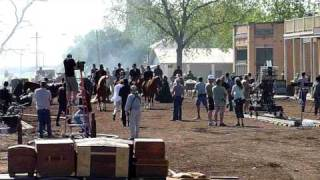 True Grit Filming in Granger, Texas 4/28/2010