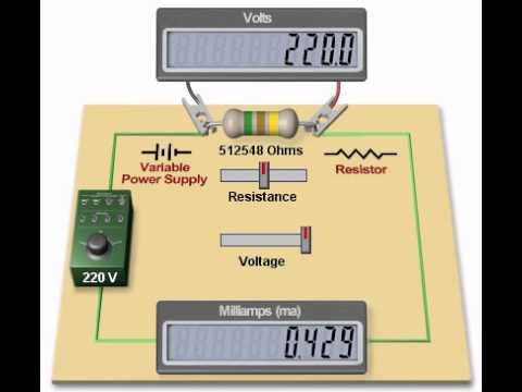 Электрики ГГПК: Закон Ома