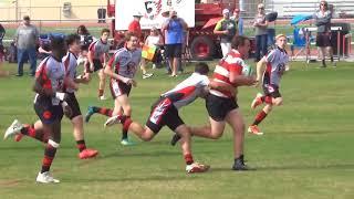 High School Rugby Firebirds v Brophy 2018 Feb 17 First Half