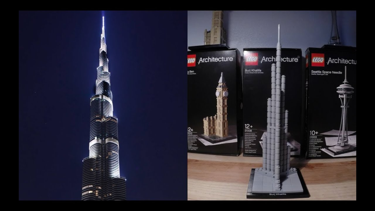 Burj Khalifa Lego Architecture Cool Pictures And Ideas Of