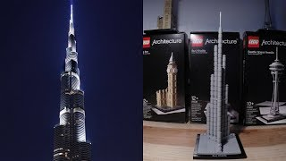 Burj Khalifa Lego Architecture cool pictures and ideas of how to build things in lego