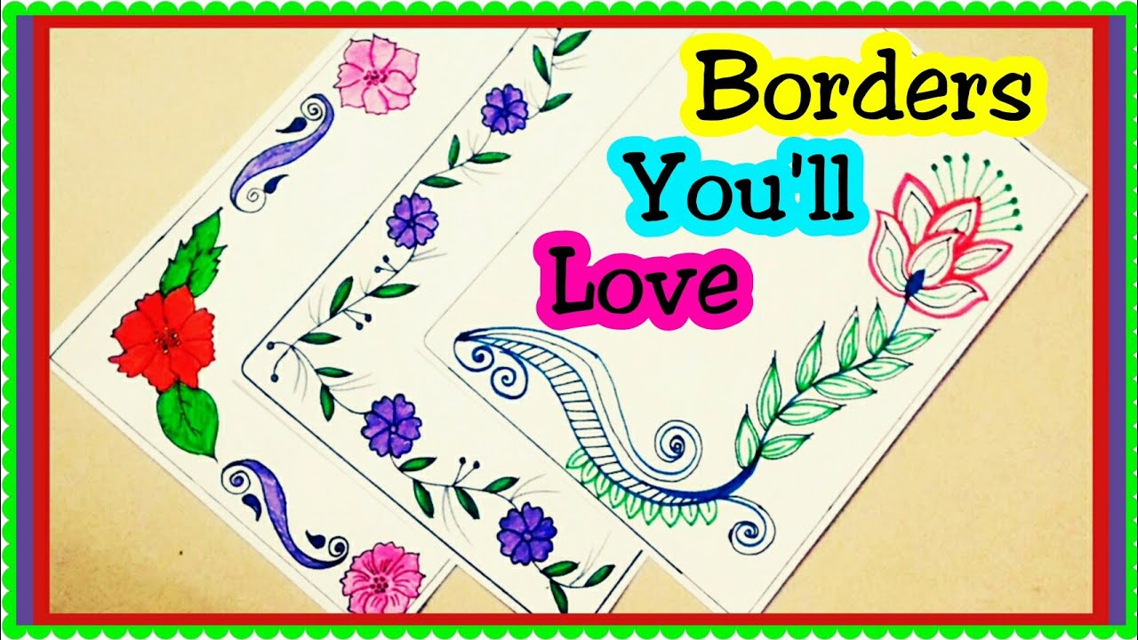 Border Designs Project Design Ideas File Decoration Design