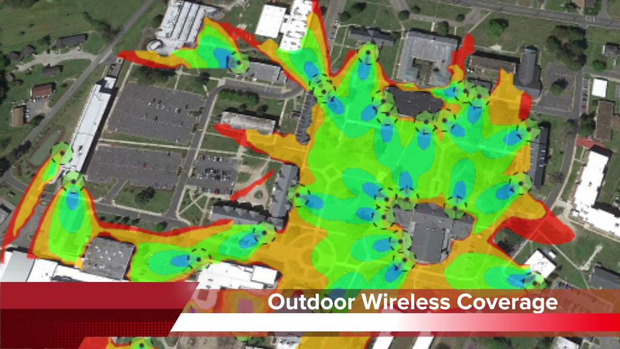 Ecsu Is Now A Full On 802 11ac Wave 2 Wireless Campus Youtube
