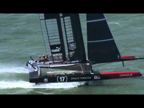 Fresh to Frightening Crashing Moments at the 34th Americas Cup.
