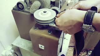 Кожаный зажим для денег на магните, ручная работа