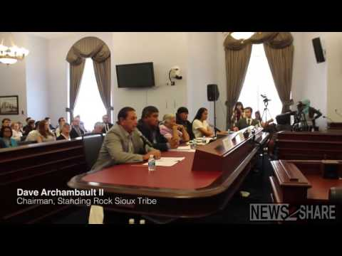 Activists Discuss Pipeline Project at Congressional Forum