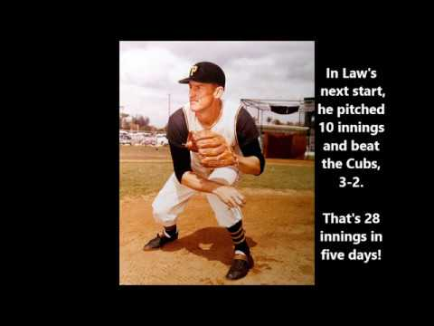 Vernon Law Pitched How Many Innings!?