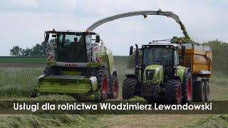 Usługi dla rolnictwa Włodzimierz Lewandowski - zbiór sianokiszonki