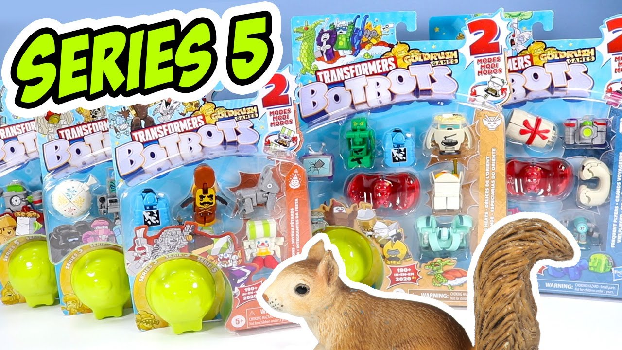 Download Transformers BotBots Series 5 Toy Review Goldrush Games Part Two