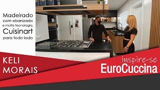 Inspire-se EuroCuccina com keli Morais e o décor super descolado para uma cobertura